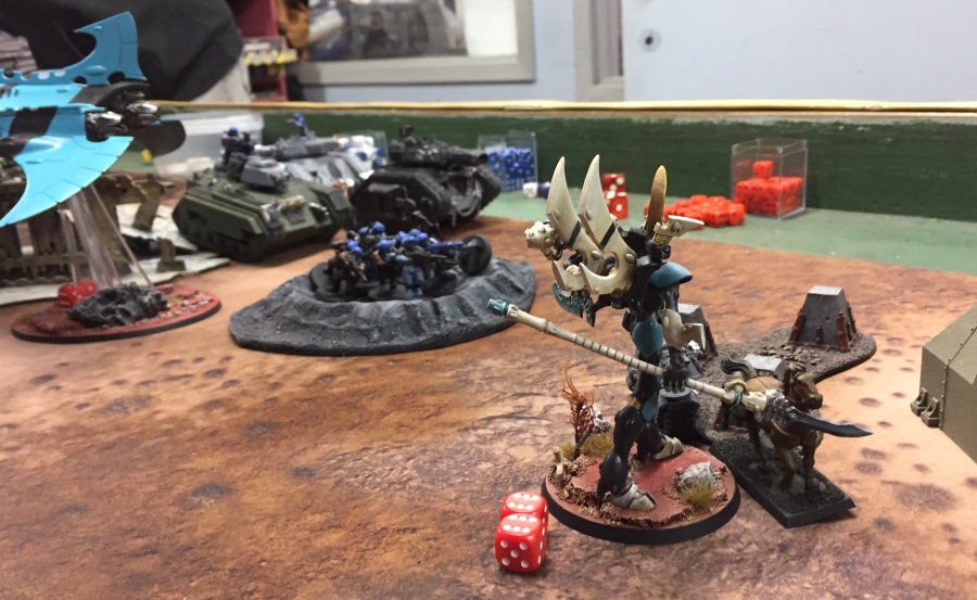 40k League Cycle #3 — Game 1