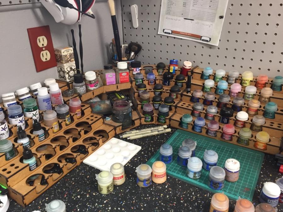 Hobby Space & Paint PotIrritations